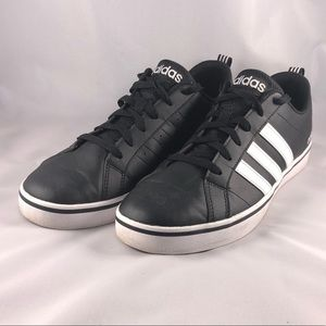 Adidas Pace VS Black White Sneakers 10